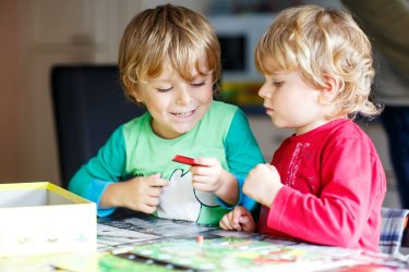 Sibling jealousy and preschool play dates