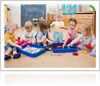 Pre-K Kids Playing in Tanglewood Academy